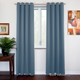 SOFITER Blockout Curtains Light Blue color fabric