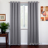 SOFITER Blockout Curtains light grey color fabric
